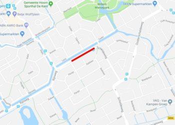 Omleidingen door wegwerkzaamheden Scheldeweg in Hoorn