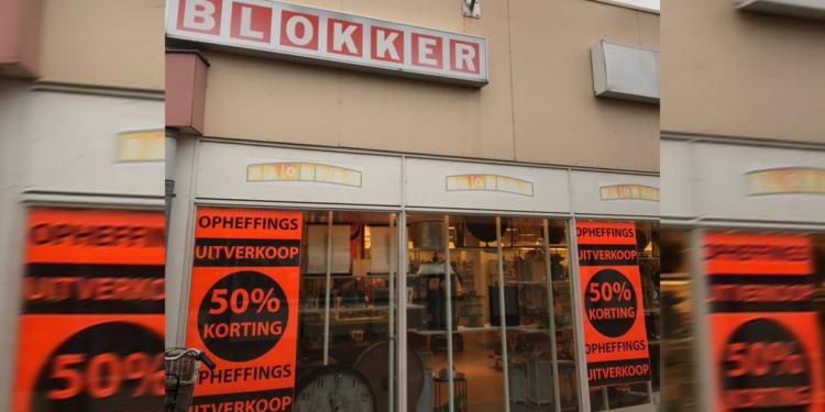 Blokker sluit haar deuren in Wervershoof