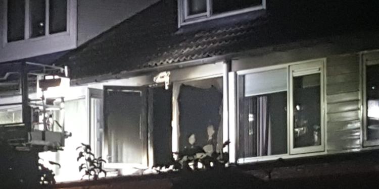 Brand in woning Lijndraaier Hoorn snel onder controle (update)