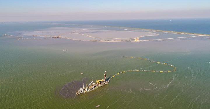 Nieuw natuurgebied in Markermeer: Trintelzand verrijst