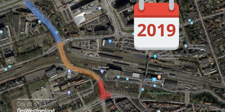 Hoorn verschuift werkzaamheden Keern naar 2019