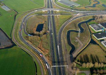 Laatste werkzaamheden rondom Oostergouw en Afrit 9 Hoorn-Noord