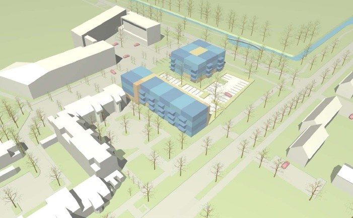 Ondertekening overeenkomst bouw 47 sociale huurwoningen Regioplein