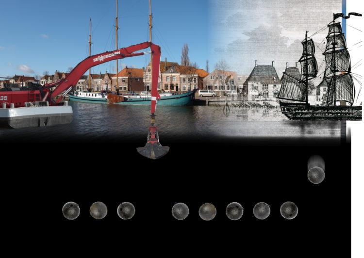 Gevonden historische granaten uit Westerhaven in Medemblik geëxposeerd