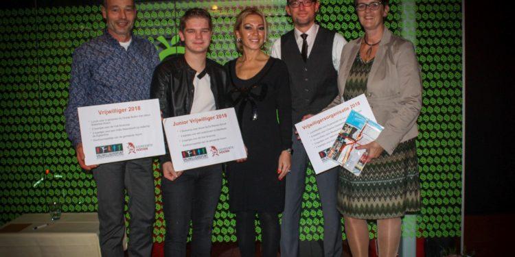 Pisa, Frank Ettes en Jelmer Zuidstra winnaars Hoornse Vrijwilligersprijs