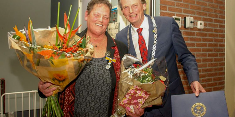 Onderscheiding voor Annelies Visser-Couvert (64) uit Twisk