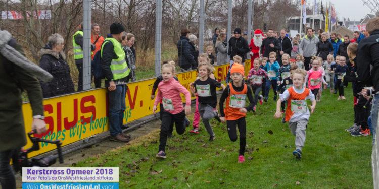 Kerstcross Opmeer 2018: Jeugd t/m 6 jaar (0,8km)