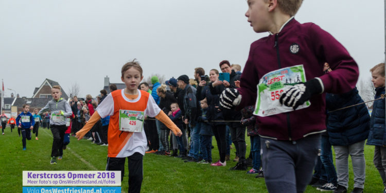 Kerstcross Opmeer 2018: jeugd 7 t/m 8 jaar (0,8km)