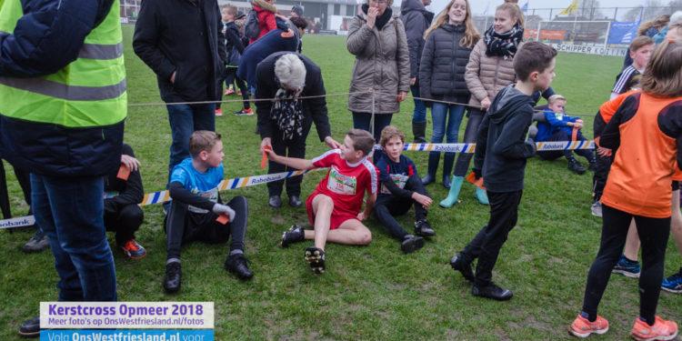 Kerstcross Opmeer 2018: jeugd 9 t/m 11 jaar (2km)