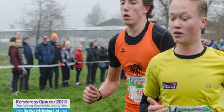 Kerstcross Opmeer 2018: jeugd 12 t/m 15 jaar (3km)