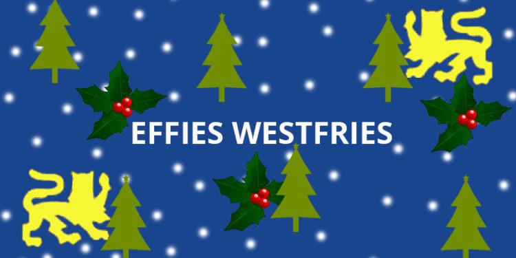 Effies Westfries: Skoftige kerstdagen!
