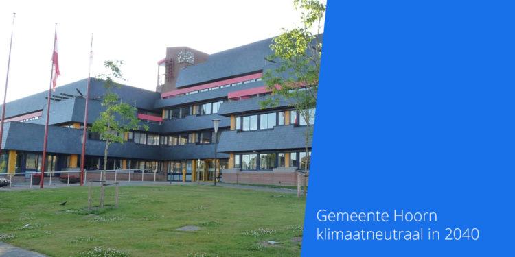 Stap voor stap naar klimaatneutraal Hoorn in 2040