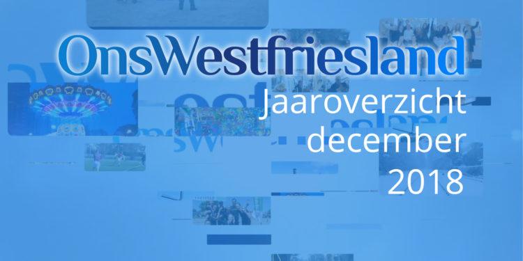 OnsWestfriesland jaaroverzicht: december 2018