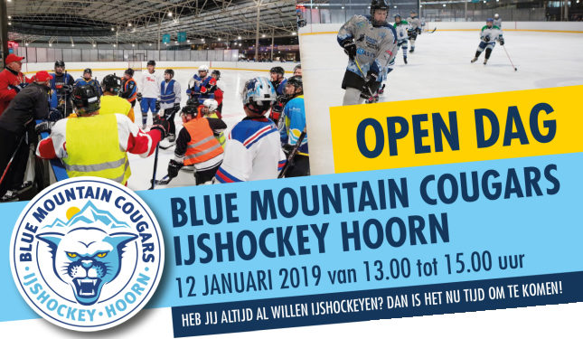 IJshockey 'Open Dag' op De Westfries in Hoorn