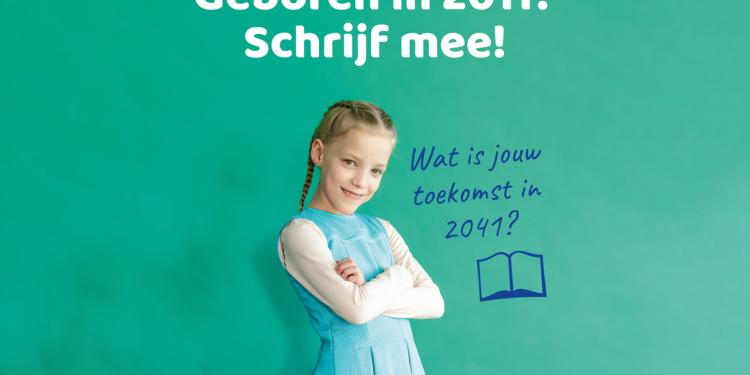 Gezocht: Kinderen uit 2011 die willen schrijven over het jaar 2041