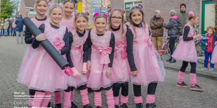 Foto's Kinderoptocht Carnaval Zwaag 2019