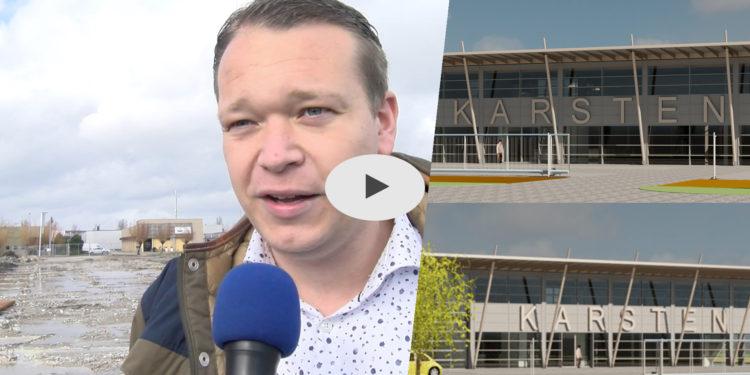 Interview Marc Takken over nieuwbouwplannen Karsten Tenten [video]