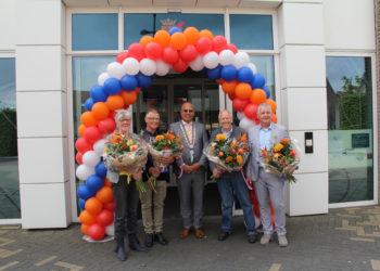 Vier Koninklijke onderscheidingen uitgereikt in Koggenland