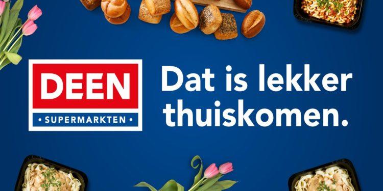 Supermarktketen DEEN met nieuwe sloganook op TV