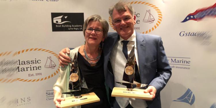 """Twee Classic Boat Awards voor Ventis; """"De Oscars in ons vakgebied"""""""