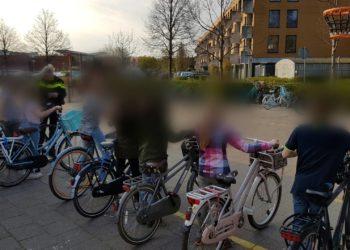 Fietskeuring bij Hoornse basisscholen voor fietsexamen