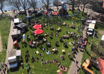 Zonnige eerste editie van Paasfestival Enkhuizen