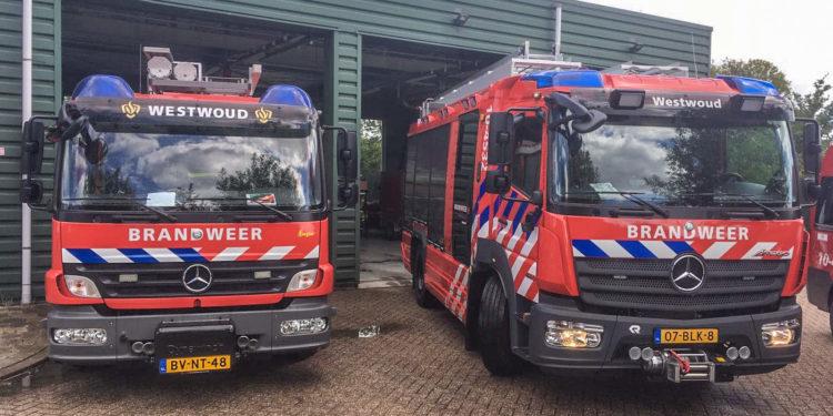 Twee nieuwe tankautospuiten voor brandweer Drechterland