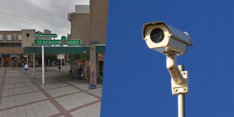 Vaste camera's voor extra toezicht in centrumgebied Kersenboogerd
