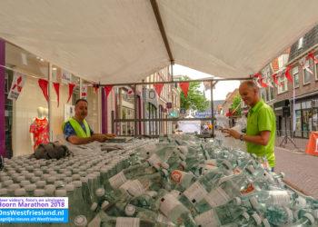 Extra drinkpost vanwege verwachte warmte tijdens Marathon Hoorn (update!)