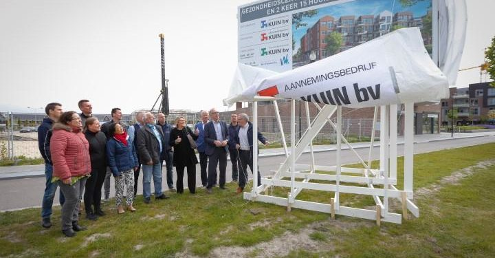 Bouw gezondheidscentrum en 30 appartementen Bangert Oosterpolder gestart