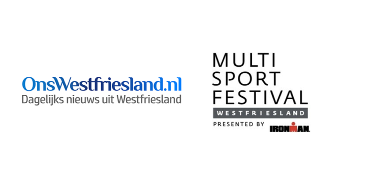 OnsWestfriesland mediapartner van Ironman Multisport festival Westfriesland