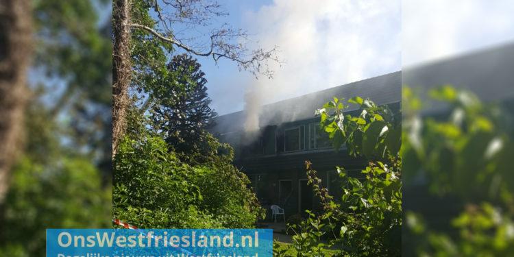 Uitslaande brand woning aan de Kluut in Hoorn (update)