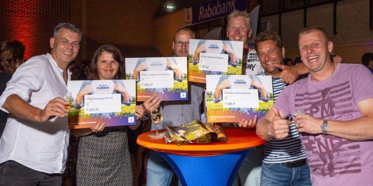 De Weid, Grasshoppers en De Brink score hoog bij Clubkas Campagne