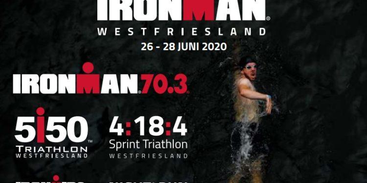 Ironman Westfriesland 70.3 en meer in weekend 26-28 juni 2020