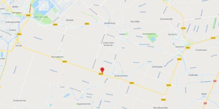 Avenhorn – De Omval (N243) tot 2 jaar afgesloten voor groot onderhoud