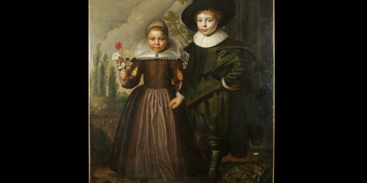 Bij Sotheby's gekocht 17e eeuwsportret nu te zien in Westfries Museum
