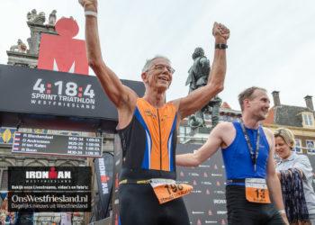Foto's Ironman Westfriesland – 4:18:4 – Finish en prijsuitreiking