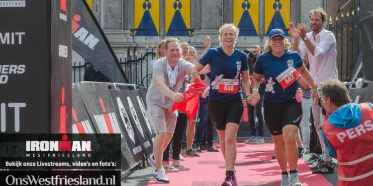 Terugblik: 'Bente en ik hebben de mooiste Ironman finish van iedereen gehad'