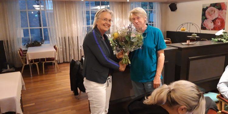 Warm afscheid participatieraadslid Dick Hage