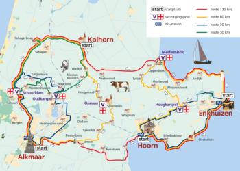 Zondag 9e editie ROnde van de Westfriese Omringdijk