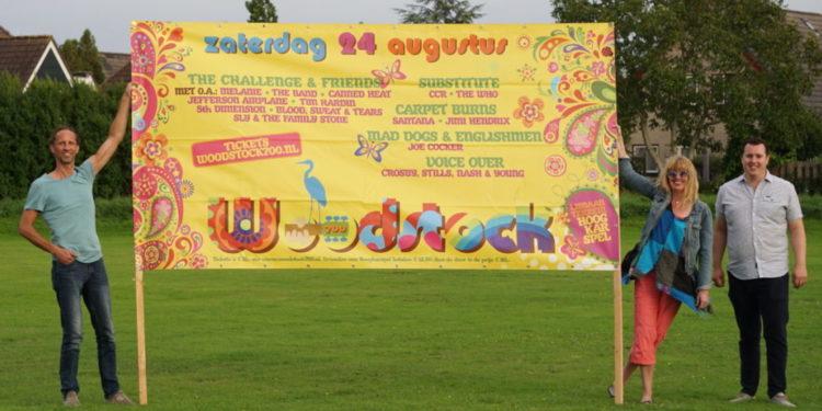 Flower Power herleeft op Woodstock 700 in Hoogkarspel
