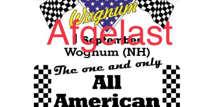 Zondag 1 september geen 'All American Sunday' Wognum