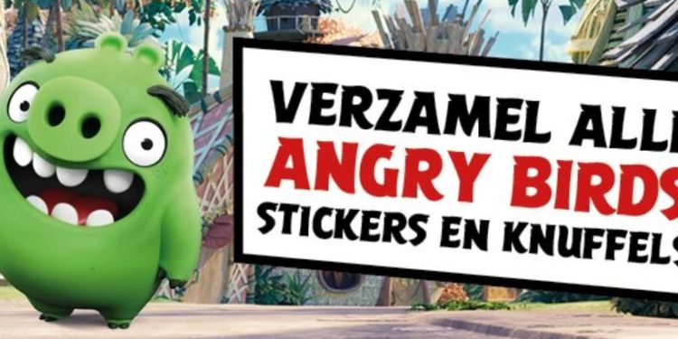 Supermarktketen Deen start met spaaractie voor Angry Birds