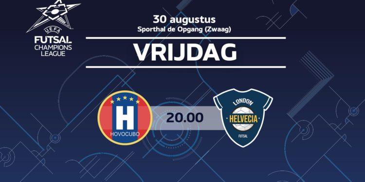 Groepsfase Futsal Champions League haalbaar voor Hovocubo