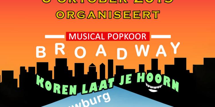 Korenfestival 'KOREN LAAT JE HOORN 2019' in schouwburg Hoorn