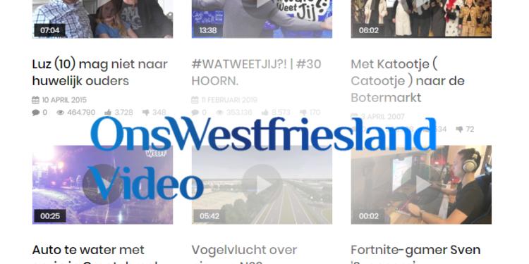 video.OnsWestfriesland.nl; Soort Youtube maar dan alleen eigen regio