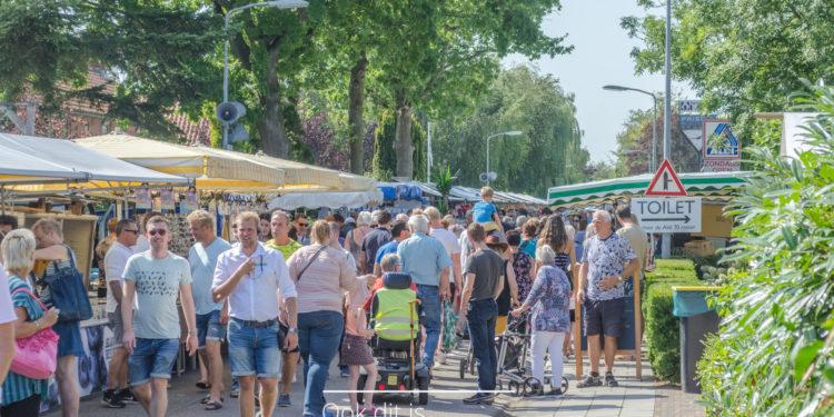 Jaarmarkt Blokker straalt op zonnige zaterdag [fotos]