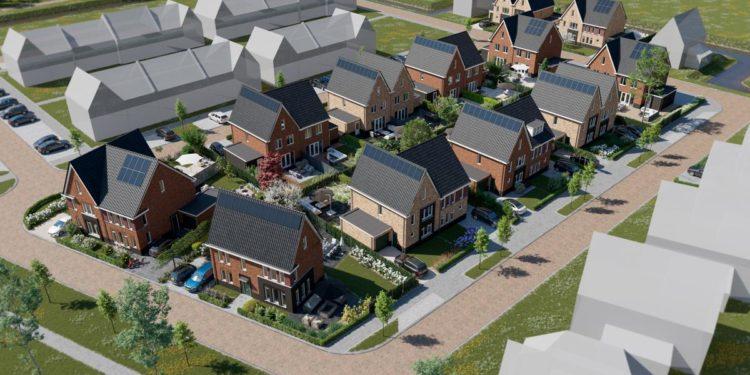 Plan Mooiland bij Bangert & Oosterpolder telt 23 gasvrije woningen