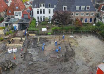 Archeologisch onderzoek 'lage V&D' legt verleden bloot [fotos]
