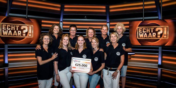 SailWise uit Enkhuizen wint 25.000 euro in SBS6-programma Echt Waar?!